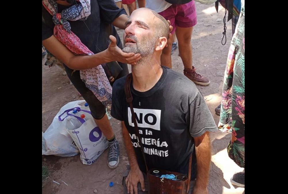 Resultado de imagen para FOTOS DE LA REPRESION EN MENDOZA