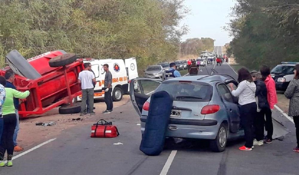 Tres muertos y varios heridos tras un sábado trágico en rutas cordobesas