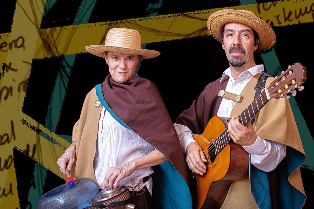 Caro y Pico los payadores