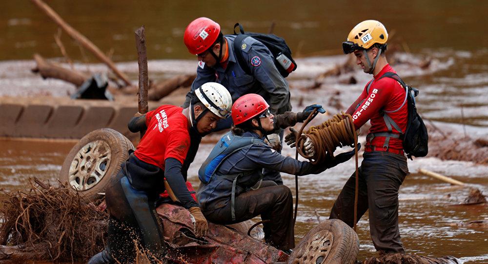 Asciende a 150 el número de muertos tras el desastre minero en Brasil