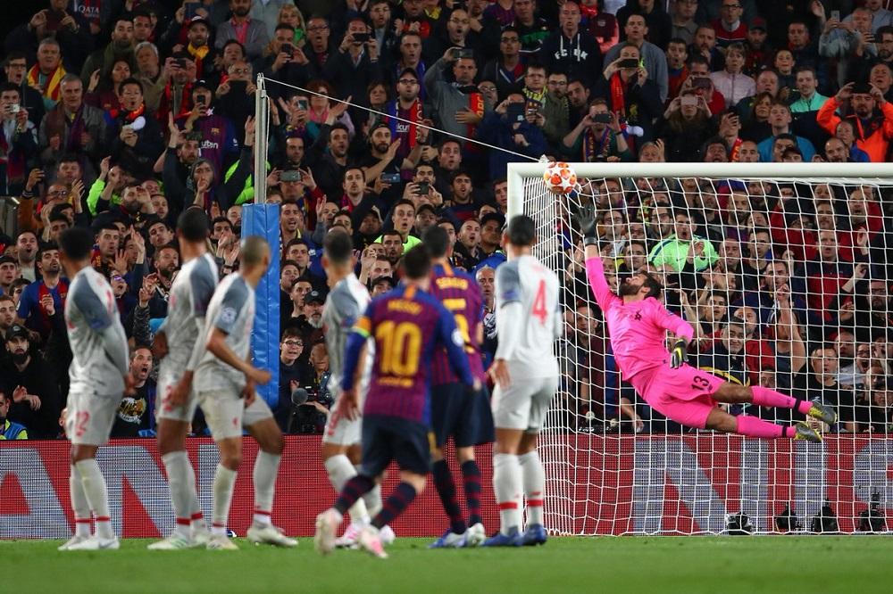 Con goles de Messi, Barcelona superó a Liverpool y sueña con la final