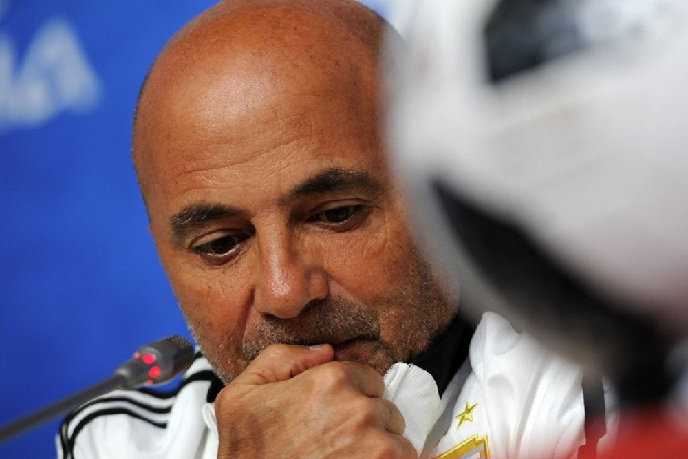 Jorge Sampaoli: entre el Mundial real y el virtual