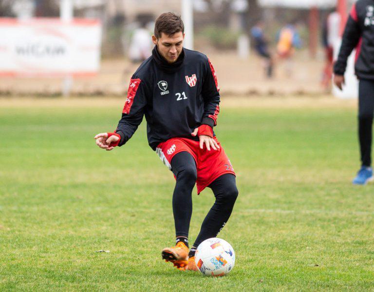 Franco Watson volvió a entrenar con el plantel principal de Instituto