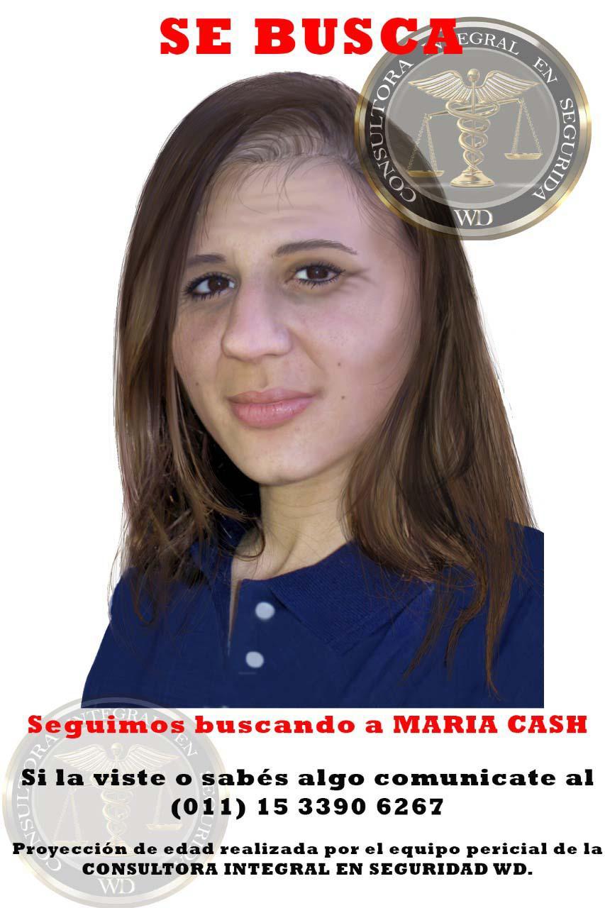 Retrato de María Cash