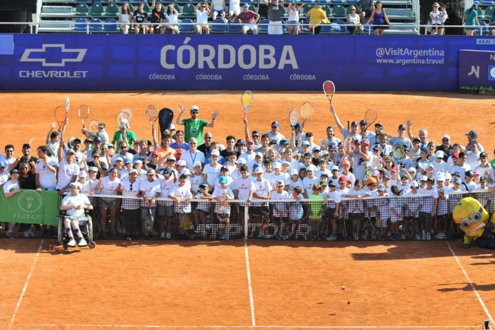 Este mediodía inició la clasificación en el Córdoba Open 2020