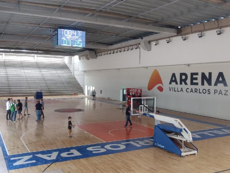 Atenas recibe a Gimnasia este martes en el estadio Arena de Carlos Paz