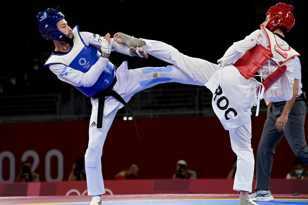 Tokio: el argentino Lucas Guzmán no alcanzó el bronce en taekwondo