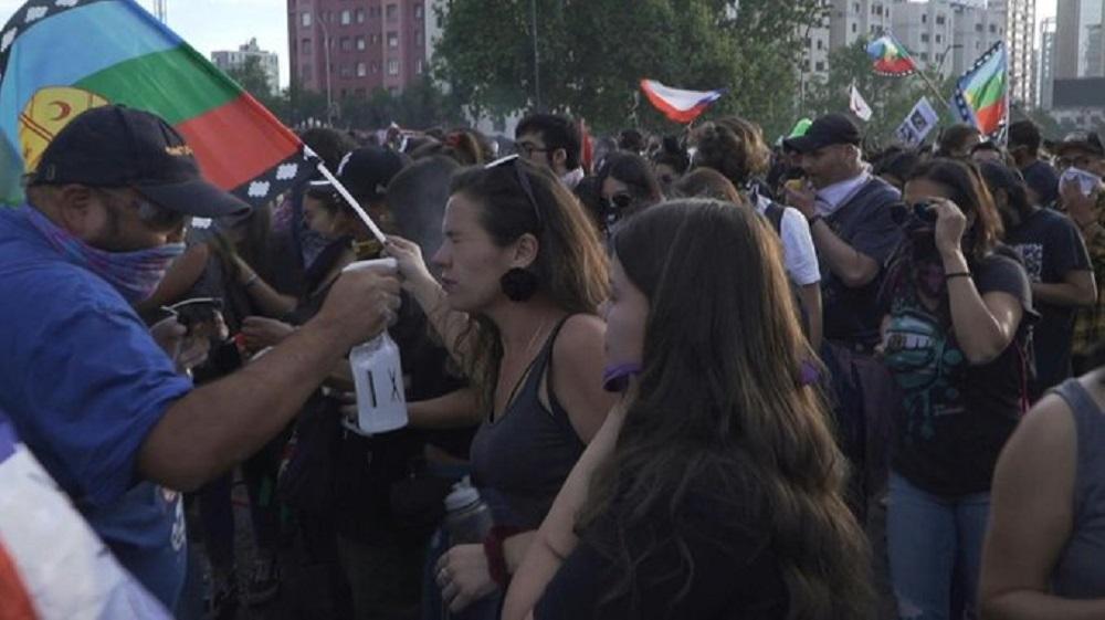 Chile: la Cruz Roja denunció que hay más de 2.500 heridos tras las protestas