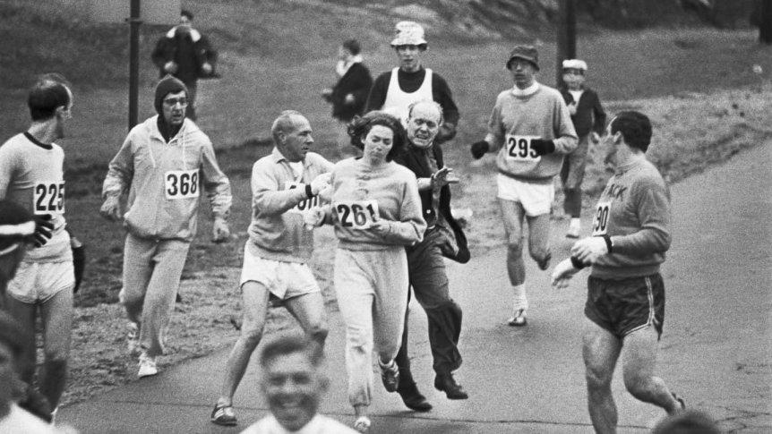 La increíble historia de Kathrine Switzer... atleta, pionera, activista