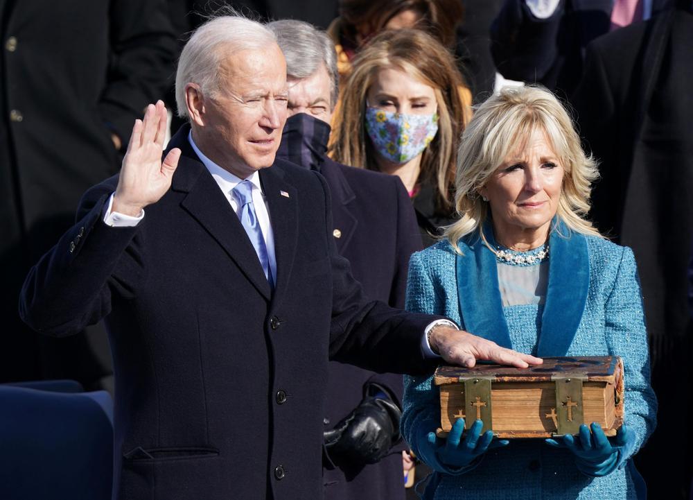 Así se desarrolló la juramentación de Joe Biden