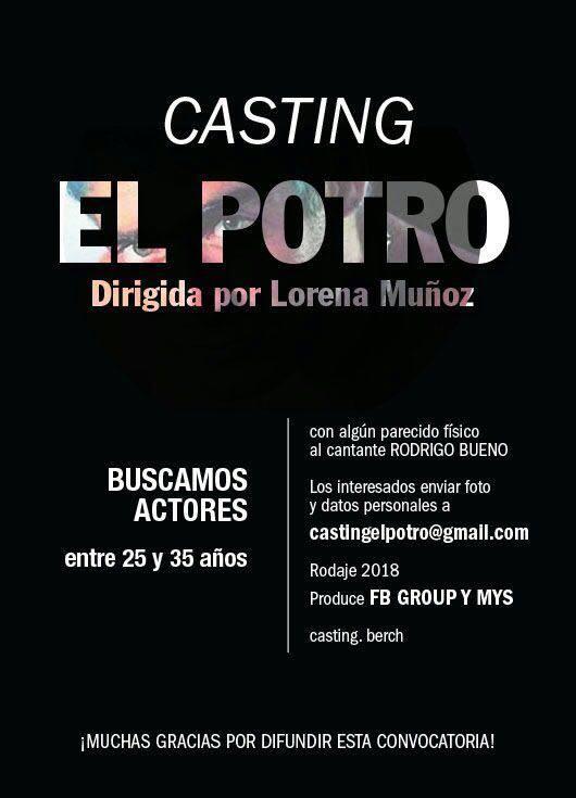 Se Viene La Película De Rodrigo Y Buscan Actor Parecido Al Potro