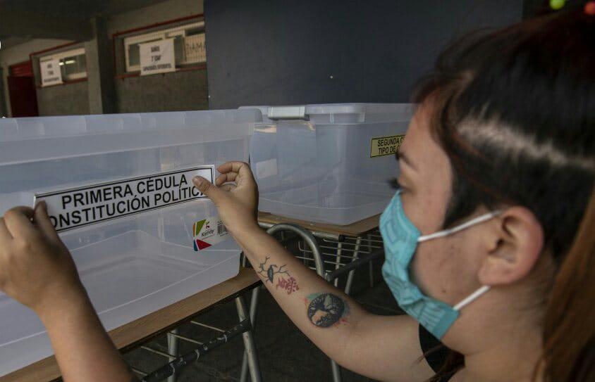 Plebiscito Chile by AFP