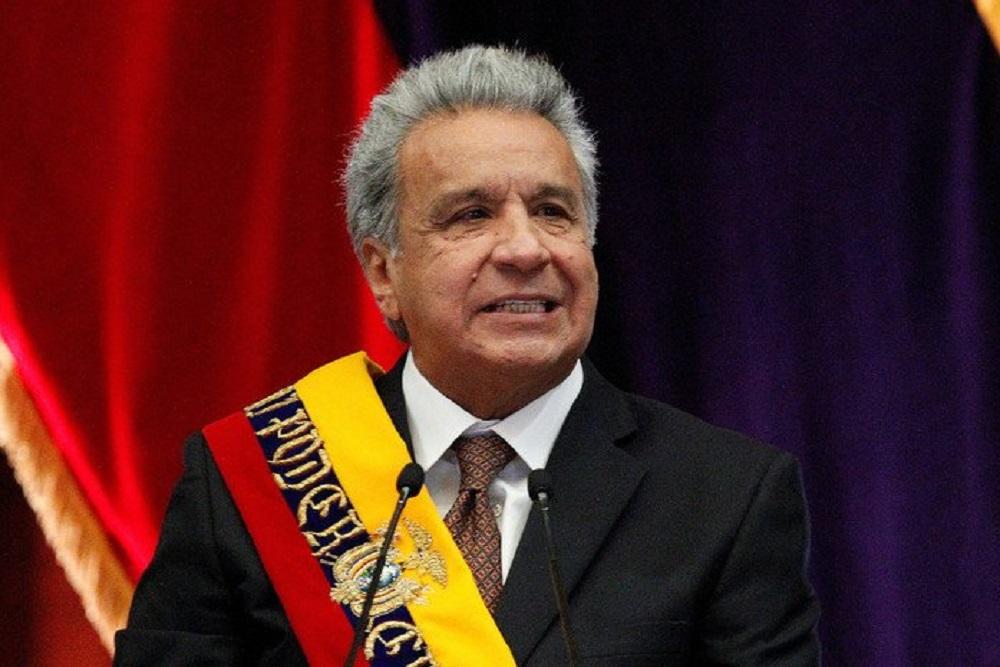 "Lenín Moreno denunció un ""intento de golpe de Estado"" por parte de Maduro"