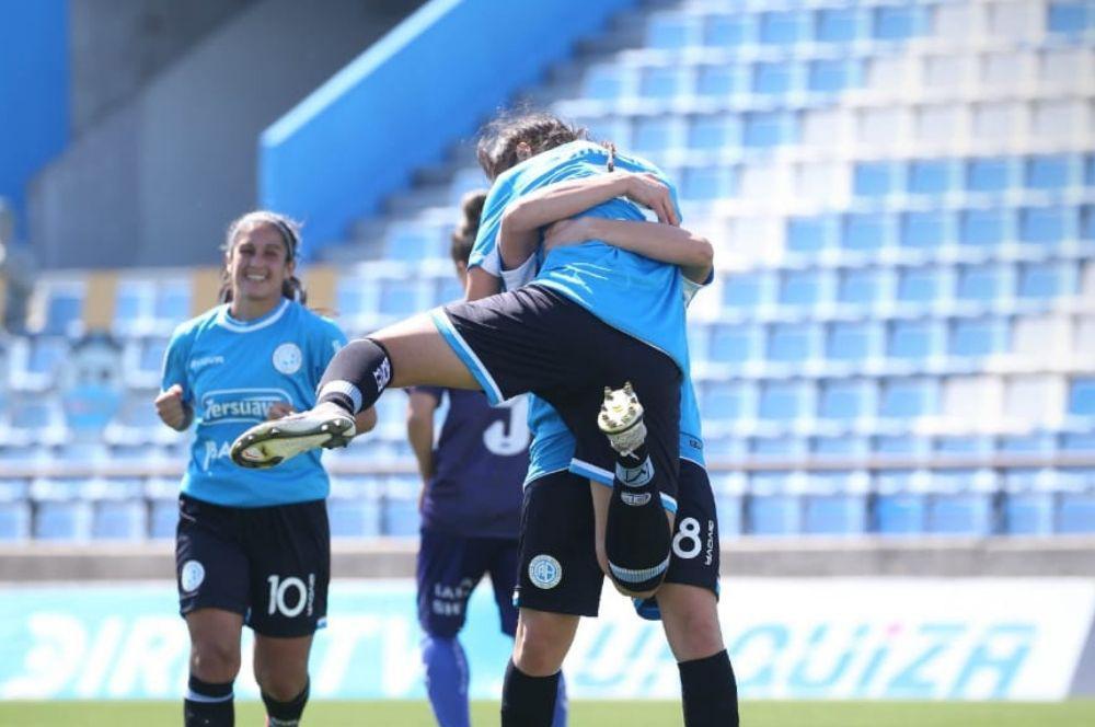 Belgrano le dio una paliza a Lamadrid en el Gigante de Alberdi