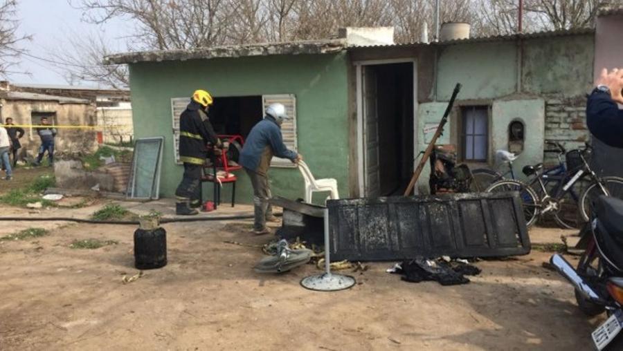 Incendio en Marcos Juárez