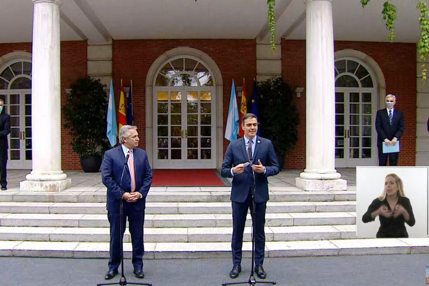 Pedro sánchez by captura de video