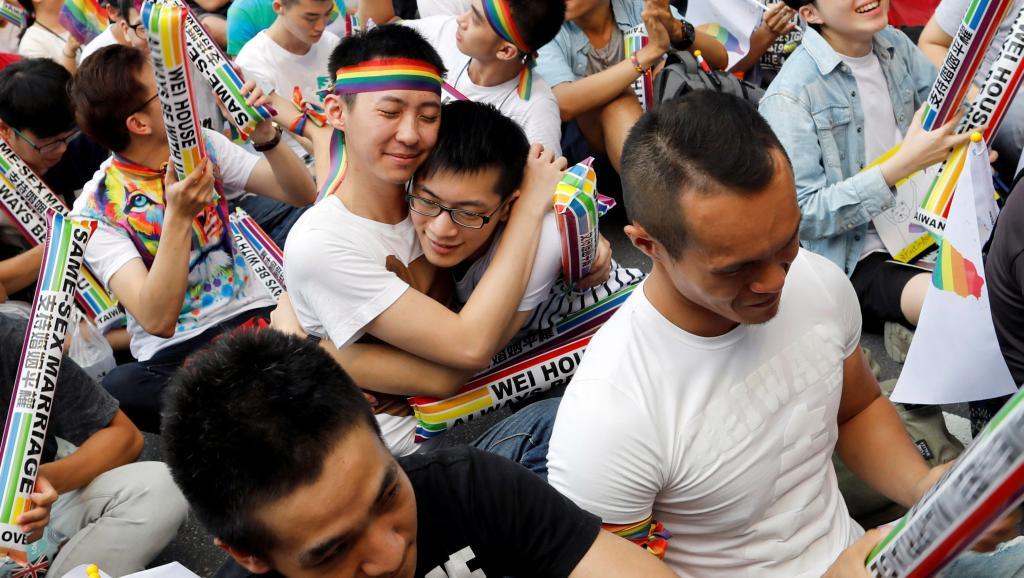 Histórico: Taiwán, el primer país de Asia en aprobar el matrimonio igualitario