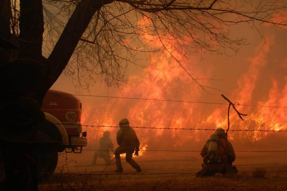 Incendio Punilla by Ariel Luna/Radio Metro