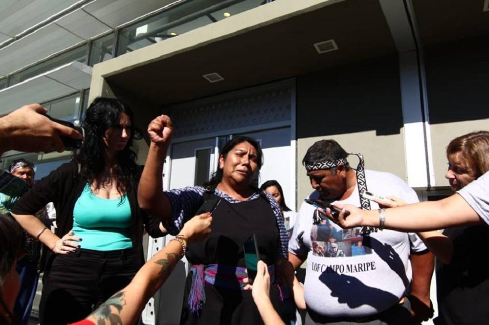 mapuches juicio absolución neuquen puf lof Foto: Confederación Mapuche de Neuquén