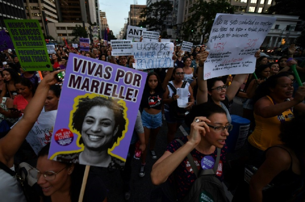 Brasil: detuvieron a ex policías por el crimen de la concejala Marielle Franco