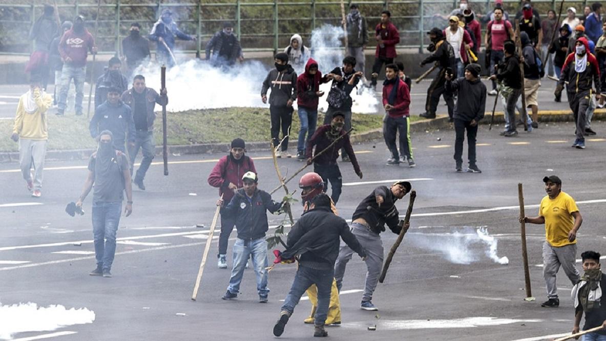 Ecuador: por protestas, Moreno muda el gobierno a Guayaquil por 30 días