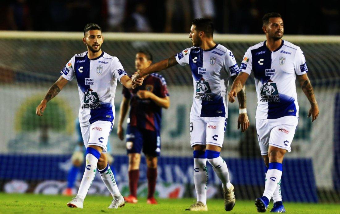 Nahuel Bustos gritó por primera vez en Pachuca