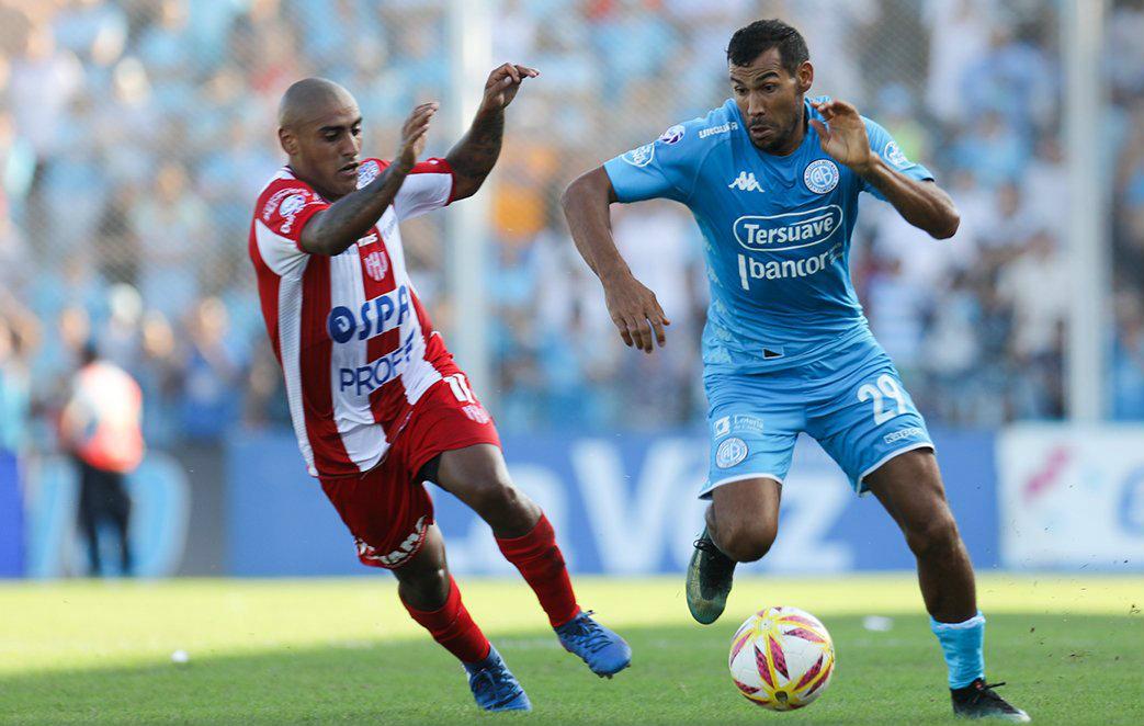 El DT Diego Osella vuelve a confiar en Juan Quiroga en Belgrano