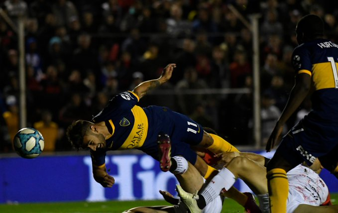 "Superliga: de visitante, los ""Xeneizes"" se imponen 2 a 0 ante Patronato"
