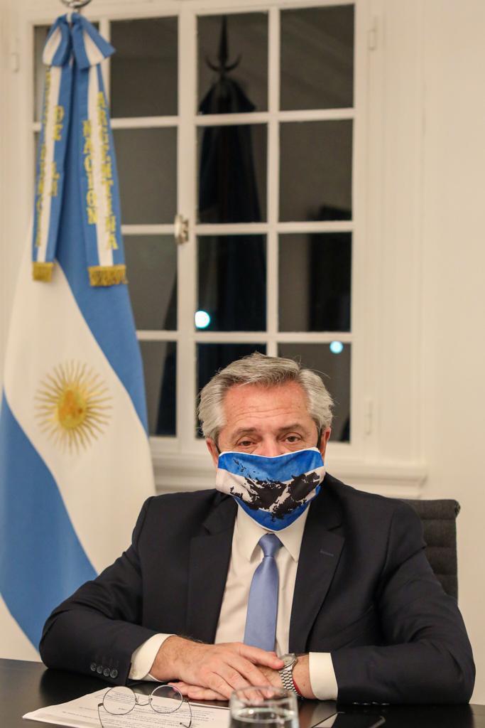 tres leyes porla soberanía sobre malvinas @CasaRosada (1)