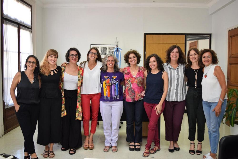 La ministra Gómez Alcorta se reunió con expertas en políticas de ...