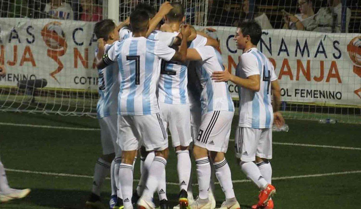 La Selección argentina se consagró campeona del torneo de L'Alcudia