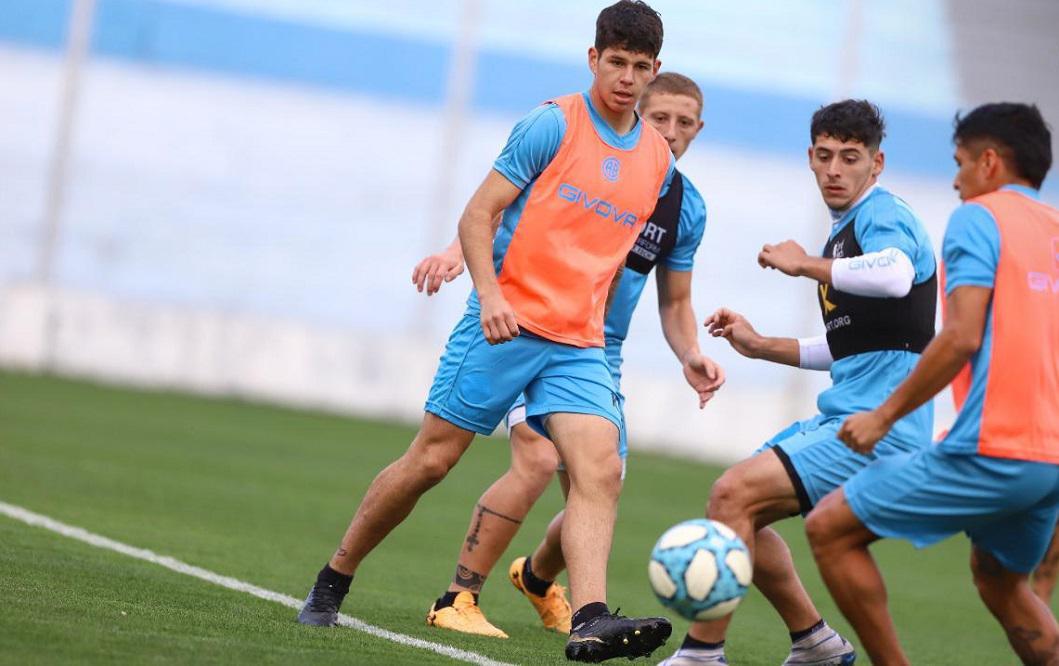 Belgrano le extendió el contrato al juvenil Bruno Zapelli