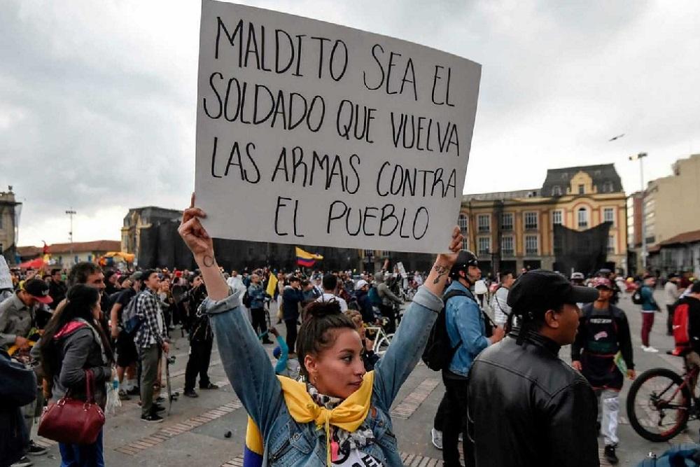 Crisis social: Colombia inicia un paro nacional contra el gobierno de Duque