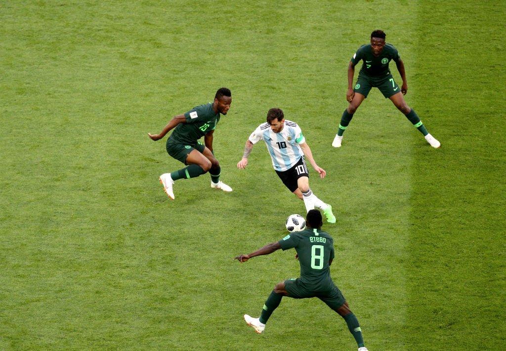 Messi corrió un kilómetro más frente a Nigeria que ante Islandia y Croacia