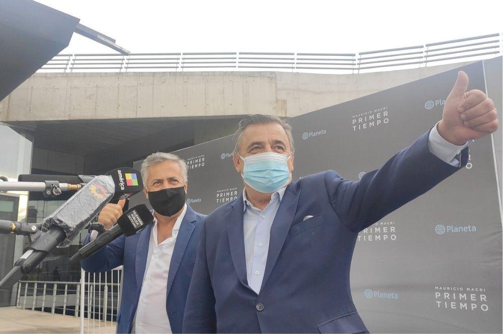 Mario Negri Barbijo prensa