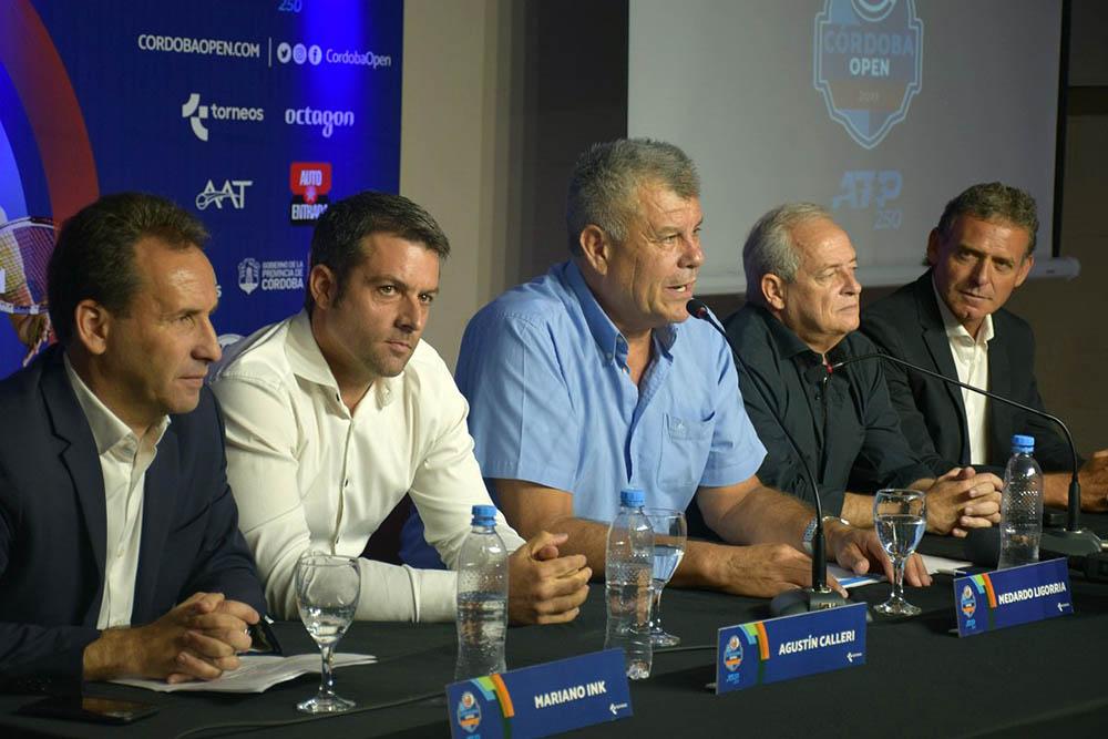 El ATP 250 ya se siente en Córdoba