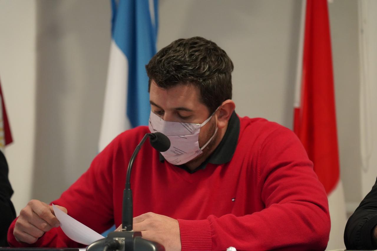 Juan Manuel Cavagliatto presidente de Instituto
