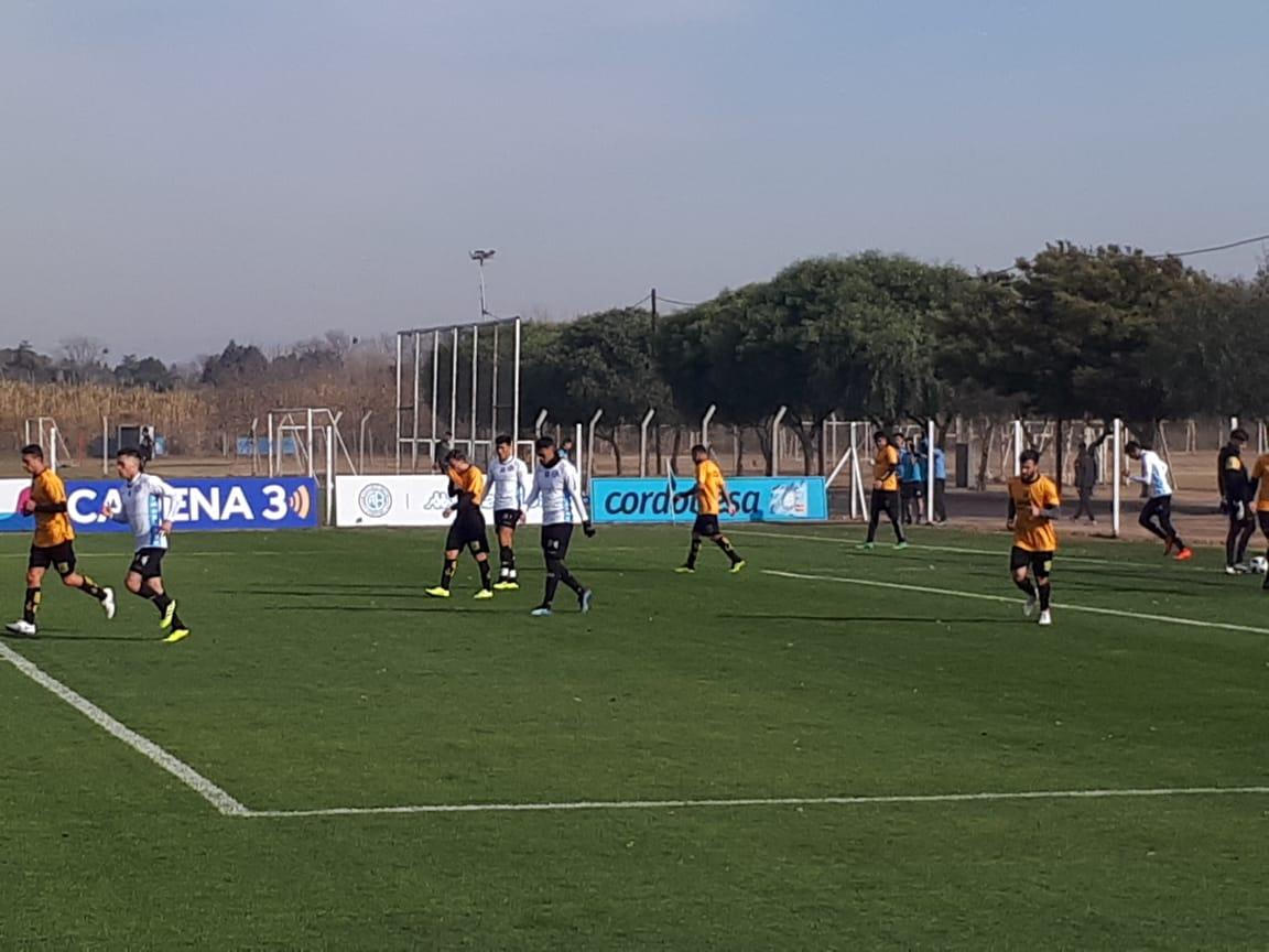 Belgrano juega su último amistoso ante Mitre en el Gigante