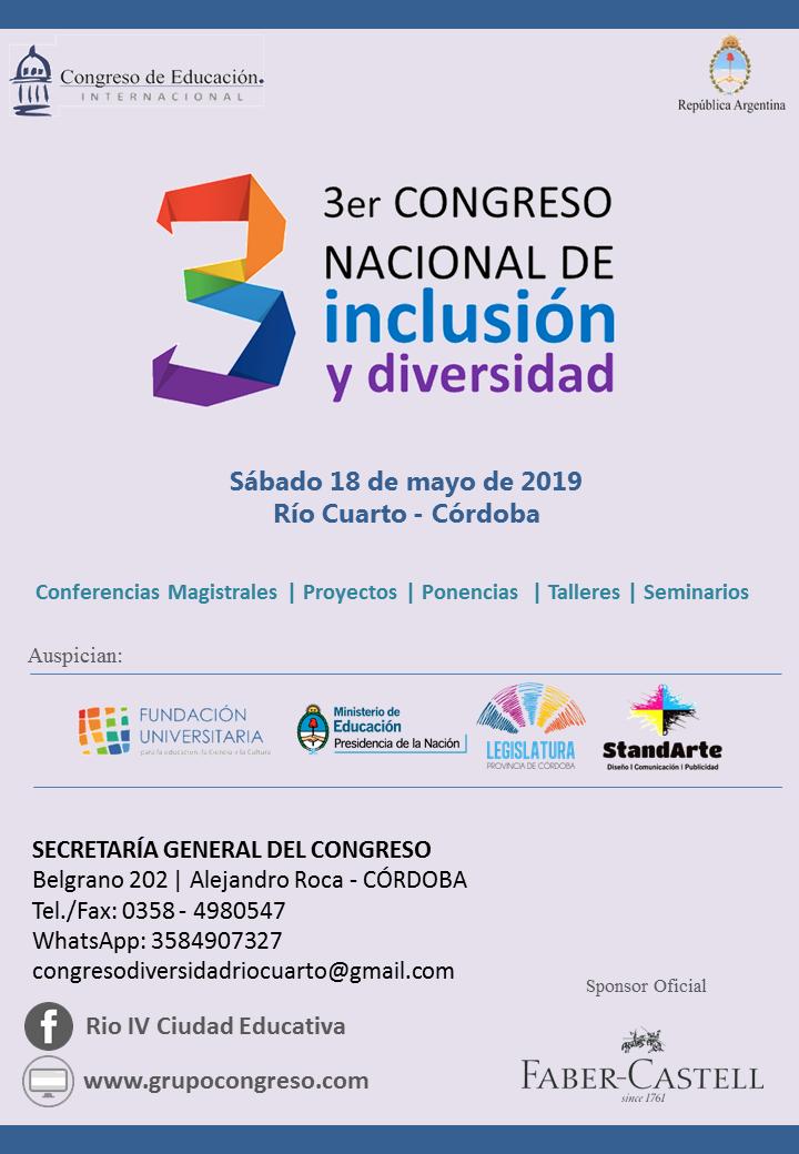 Flyer III Congreso