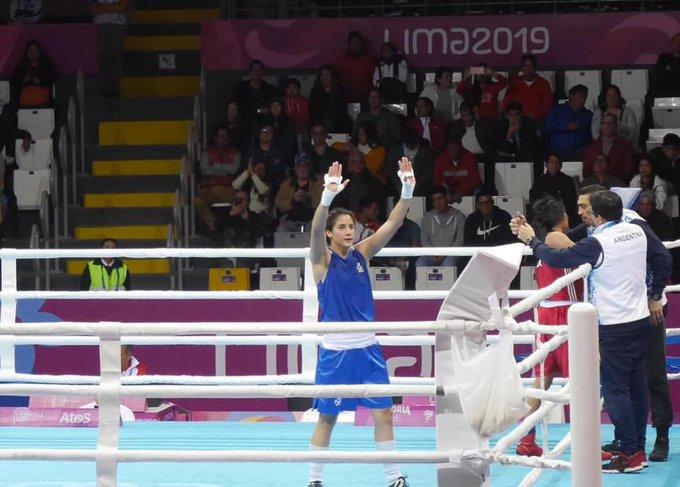 La púgil cordobesa Dayana Sánchez fue invitada a competir en los Juegos