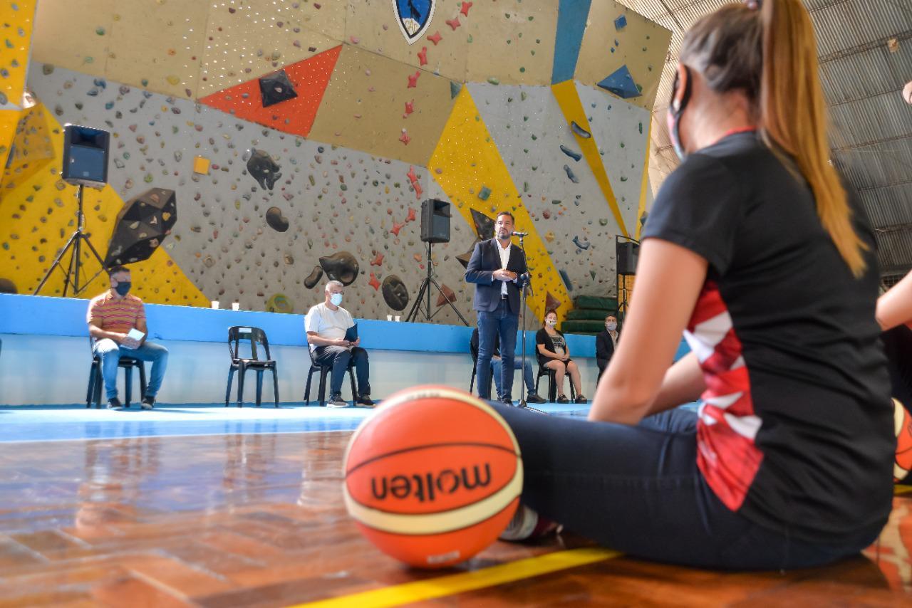 Puesta en valor del Polideportivo Gral Paz