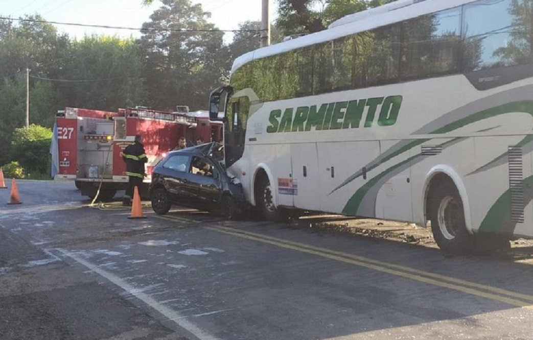accidente en ruta 38