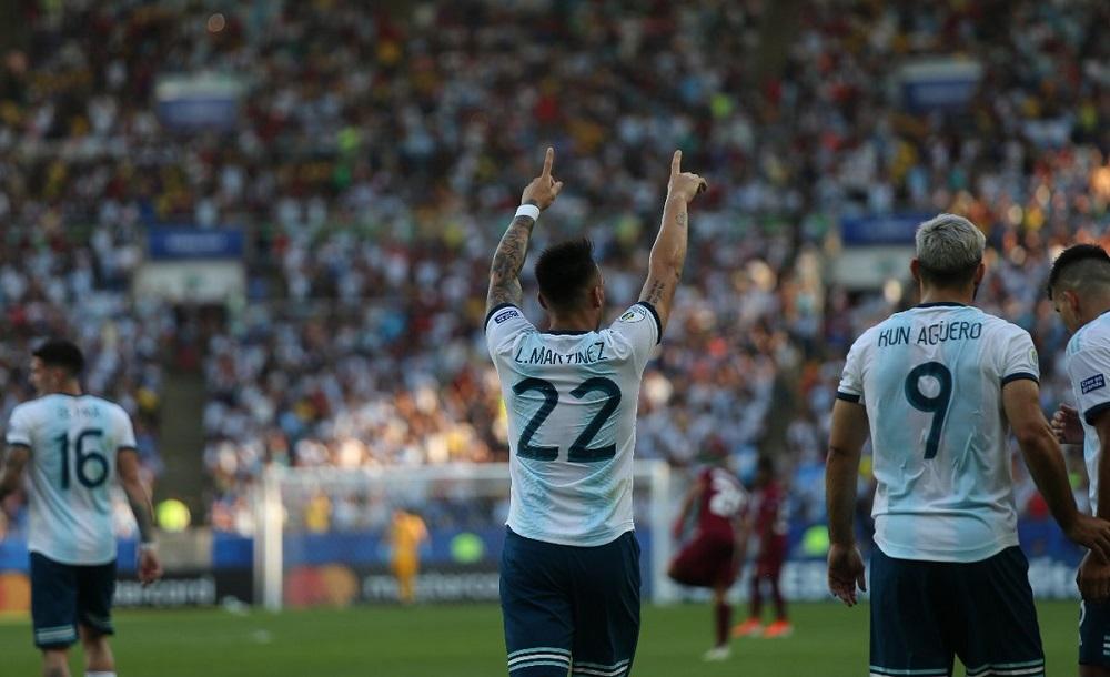 Argentina venció a Venezuela y está en semifinales de la Copa América