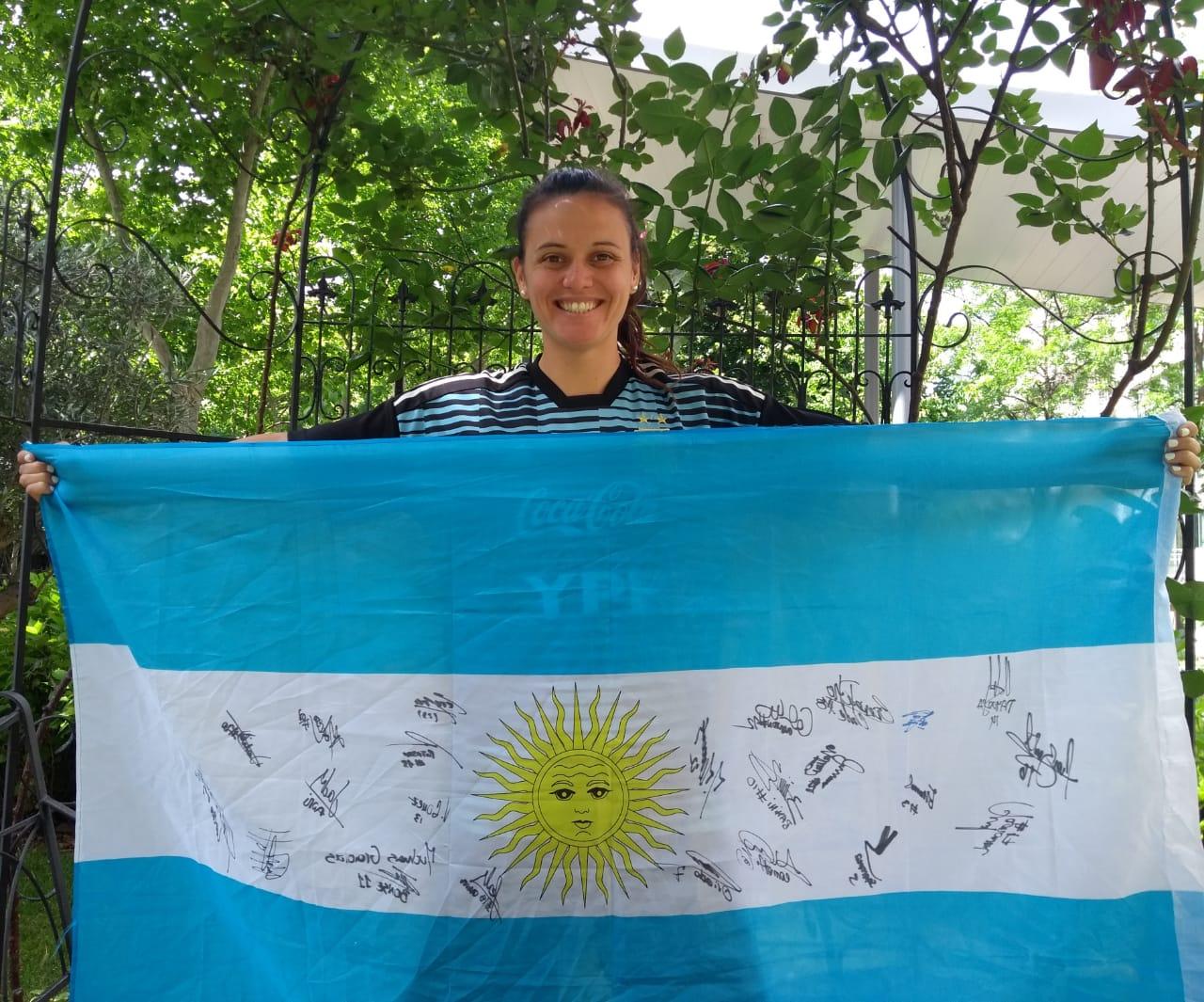 Florencia Bonsegundo, orgullo y cambio