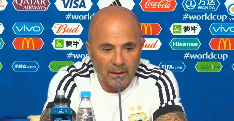 """Jorge Sampaoli: """"Jugaron con el corazón y mucha rebeldía"""""""