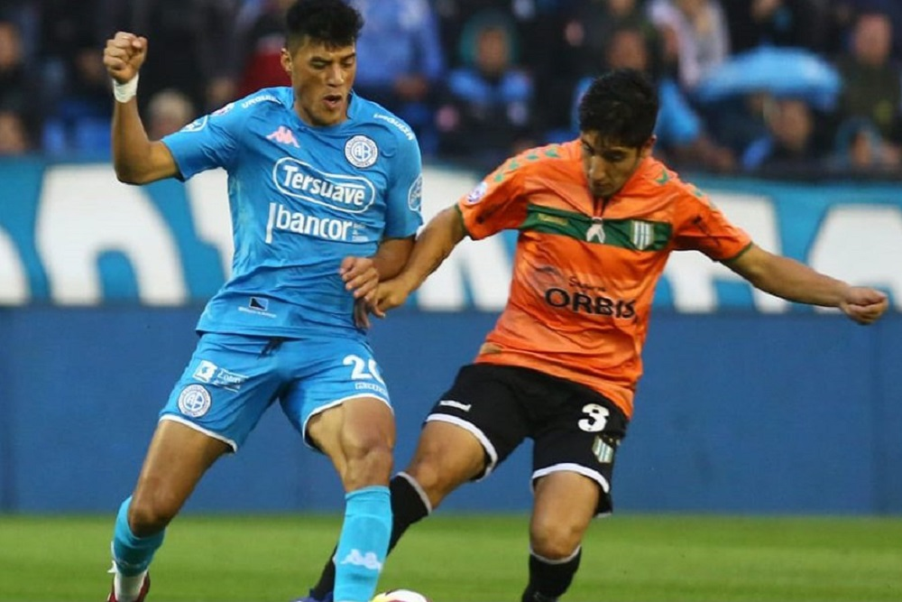 Belgrano se impone ante Banfield, en el debut de Osella