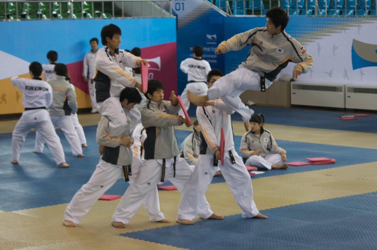 Fabulosa e increíble demostración de Taekwondo