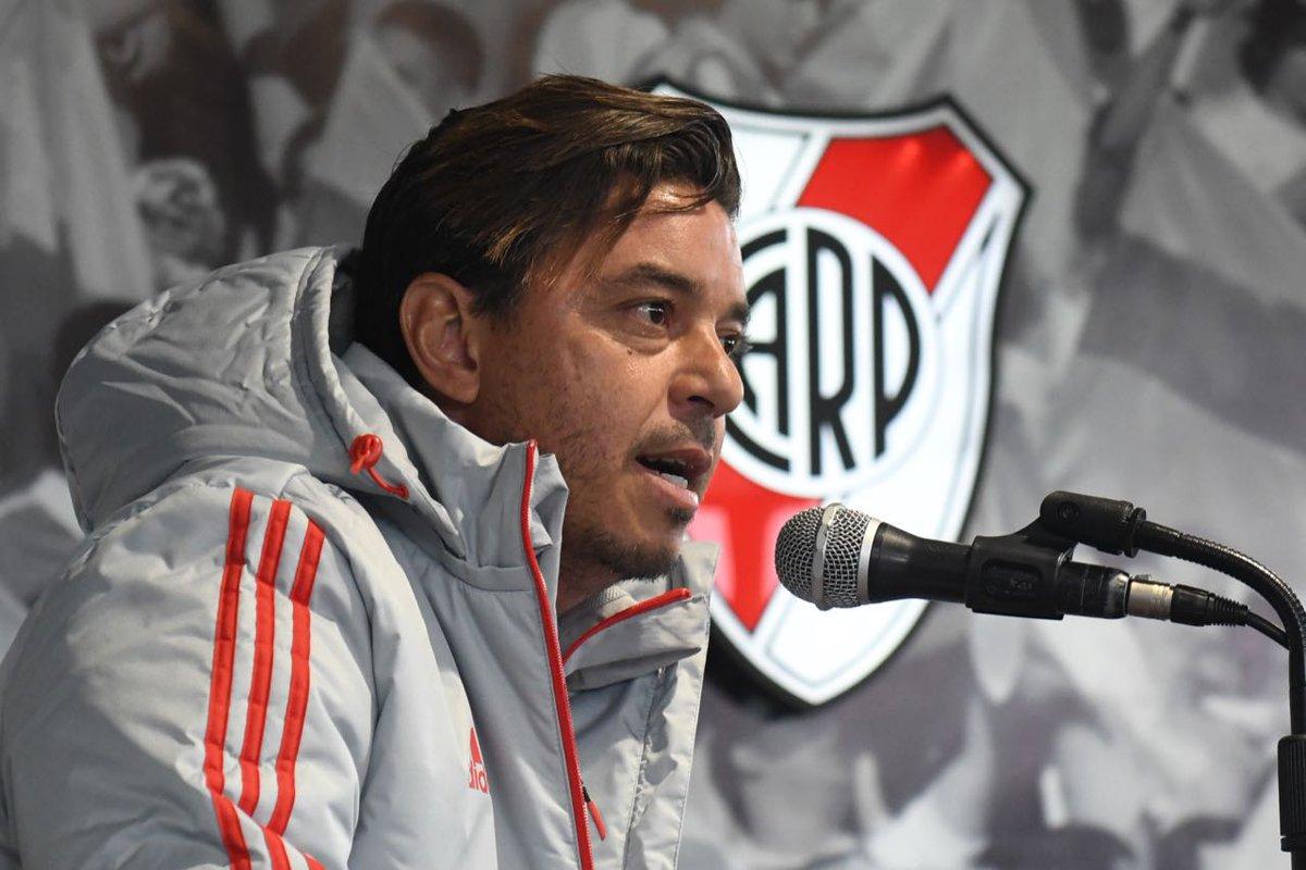 El técnico de River, Marcelo Gallardo, se bajó de la Selección argentina