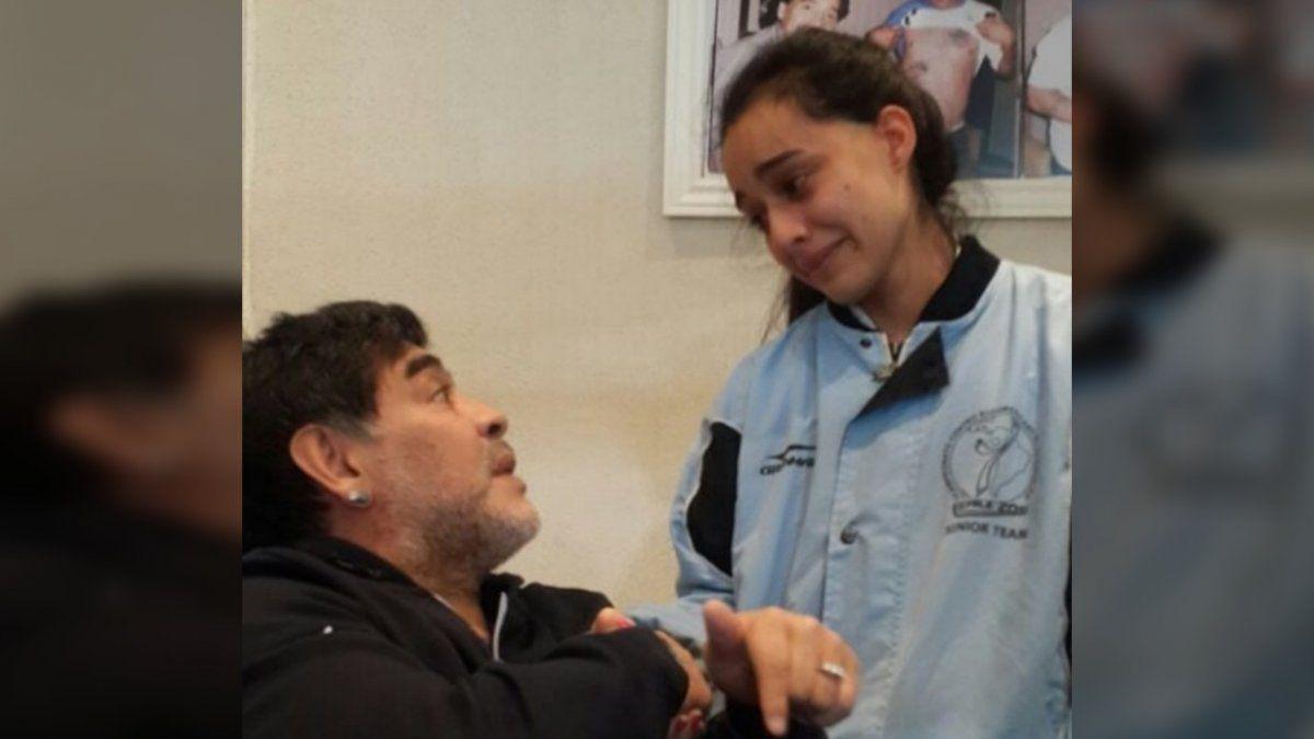 La taekwondista Romachuk y su emocionante anécdota con Maradona