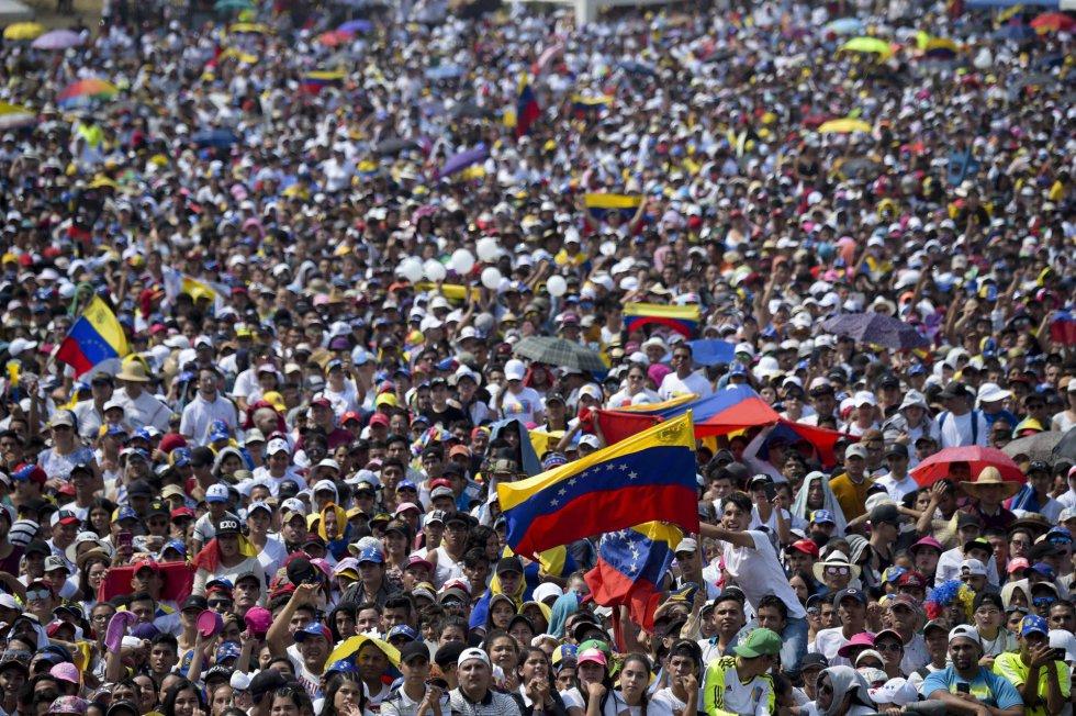 Venezuela Aid Live y Para la Guerra Nada: dos conciertos y un país dividido